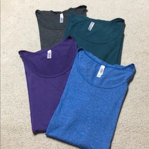 Lularoe Classic tees - set of 4 in size 3XL